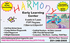 Click here to go to the Harmony Early Learning website