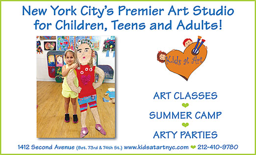 Click here to go to the Kids at Art and Little Shop of Crafts website