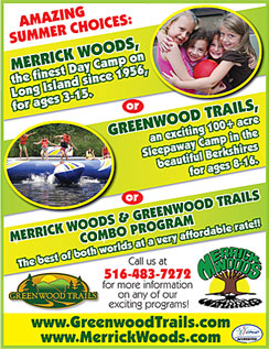 Click here to go to the Merrick Woods Camp Ad website