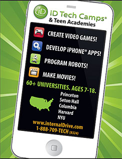 Click here to go to the ID Tech Camps website