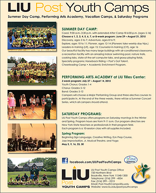 Click here to go to the C.W. Post Sports Summer Camp website