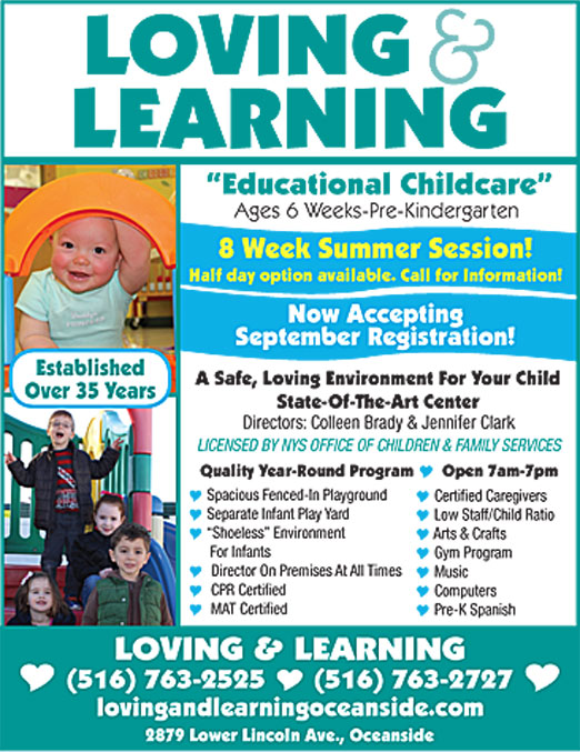 Click here to go to the Loving & Learning Ad website