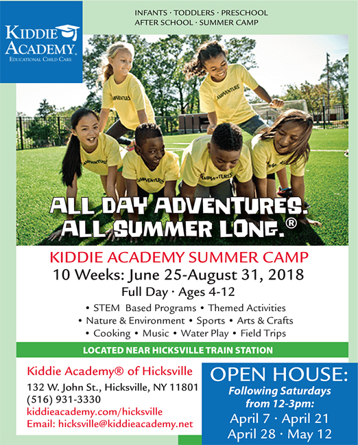 Click here to go to the Kiddie Academy Hicksville website