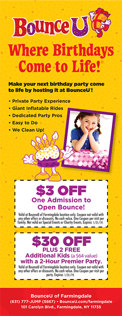 Click here to go to the Bounce U Farmingdale website