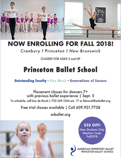 Click here to go to the Princeton Ballet School website