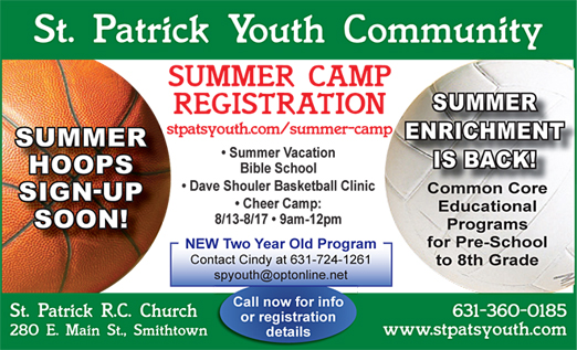 Click here to go to the St. Patrick Youth Ad website