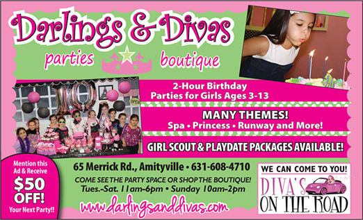 Click here to go to the Darlings & Divas website