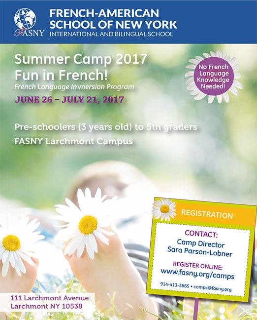Click here to go to the French-American Camp website