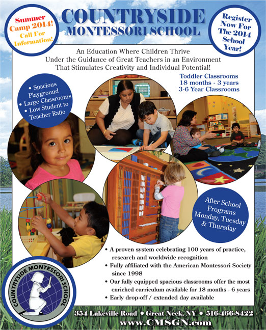 Click here to go to the Countryside Montessori Full Page website