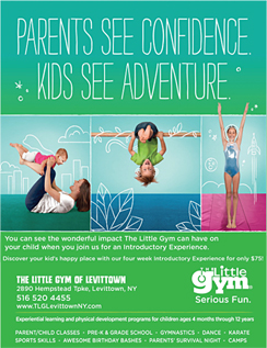 Click here to go to the Little Gym of Levittown website