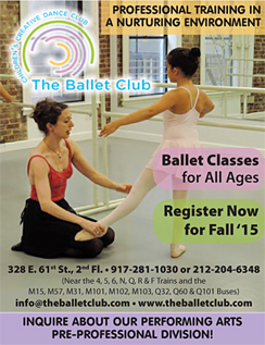 Click here to go to the Ballet Club website