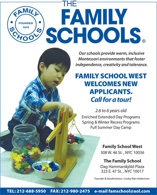 Click here to go to the Family School website