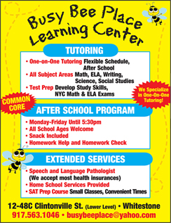 Click here to go to the Busy Bee Place Learning Center website