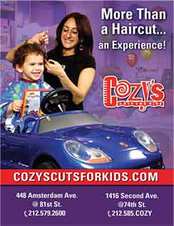 Click here to go to the Cozy's Cuts for Kids website