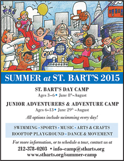Click here to go to the St. Bart's website