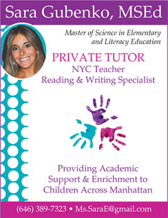 Click here to go to the Sara Gubenko, Tutor website