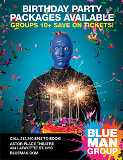 Click here to go to the Blue Man Group website