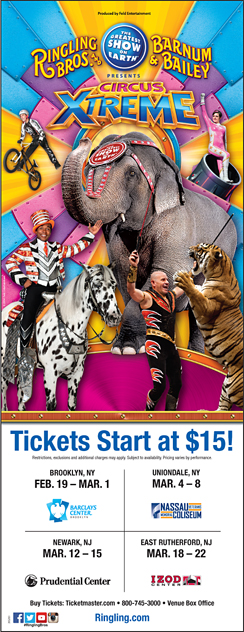 Click here to go to the Ringling Brothers Circus Ad website