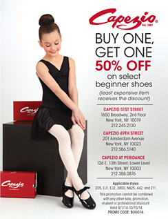 Click here to go to the Capezio_Manhattan website