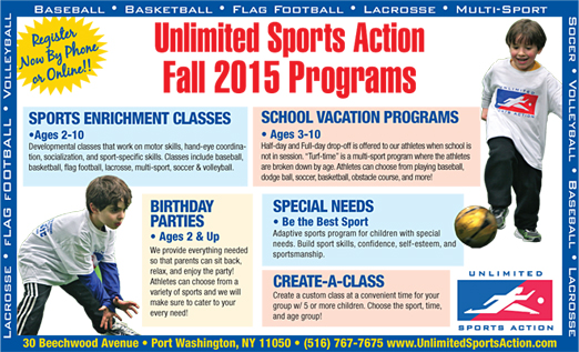 Click here to go to the Unlimited Sports Action website