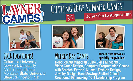 Click here to go to the Lavner Camps website