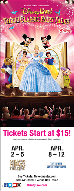 Click here to go to the Disney Live Manhattan website
