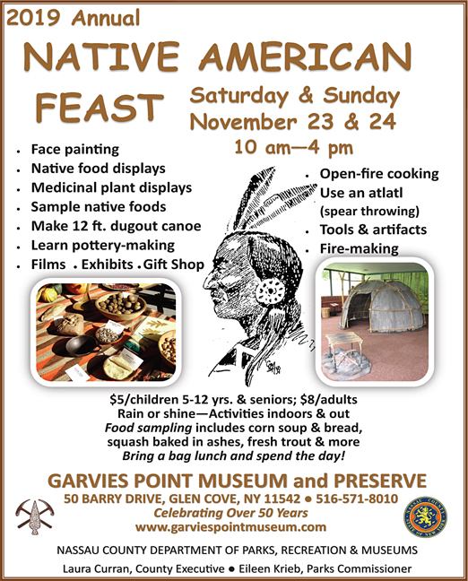 Click here to go to the Garvies Point Native American Festival website