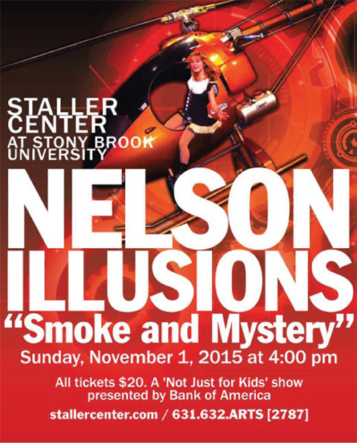 Click here to go to the Staller Center website