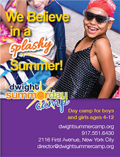 Click here to go to the Dwight Summer Camp website