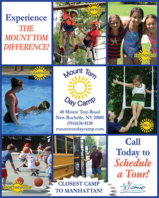 Click here to go to the Mount Tom Day Camp_Manhattan version website
