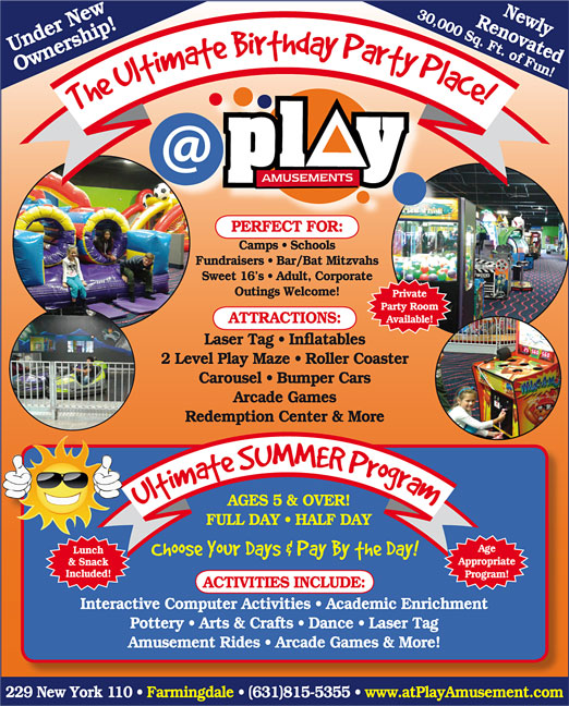 Click here to go to the @ Play Amusement website