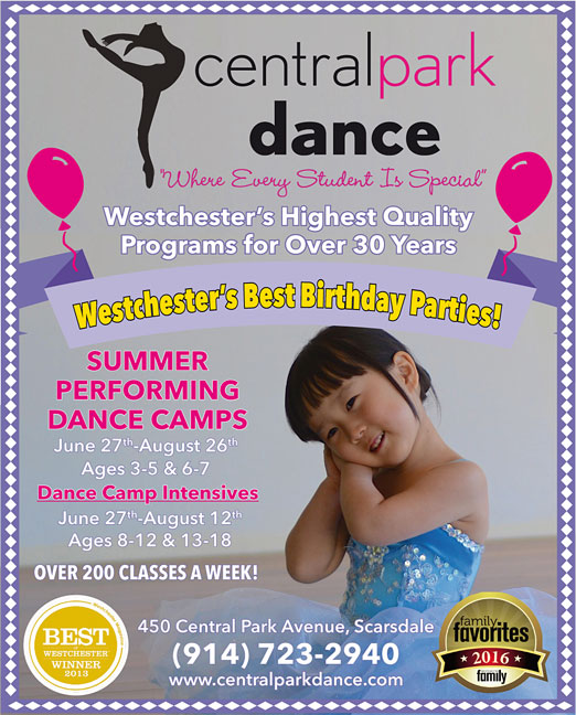 Click here to go to the Central Park Dance-Birthday Ad website