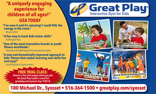 Click here to go to the Great Play Syosset website