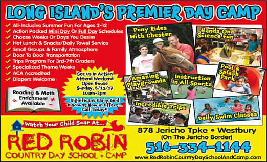 Click here to go to the Red Robin Country Day Camp website