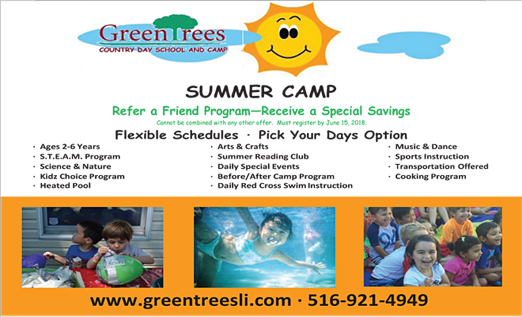 Click here to go to the Greentrees Country Day Camp website