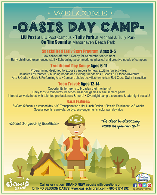 Click here to go to the Oasis Summer Day Camp Nassau/Queens website