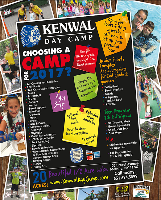 Click here to go to the Kenwal Day Camp website
