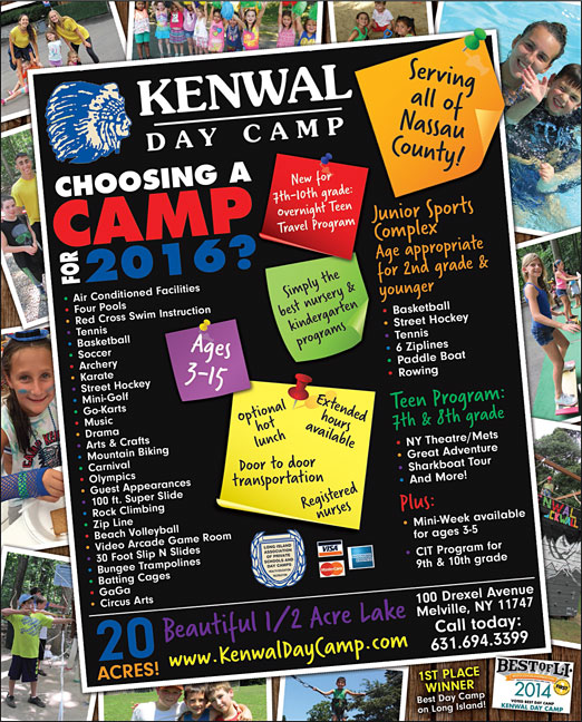 Click here to go to the Kenwal Day Camp Nassau website