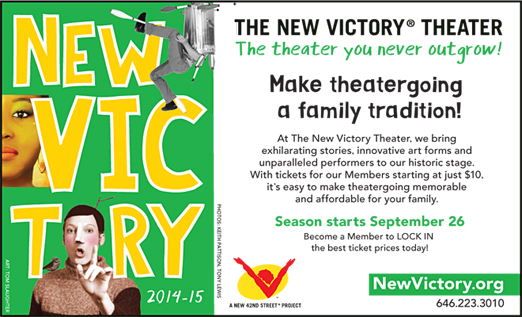 Click here to go to the New Victory Theater website