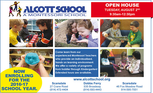 Click here to go to the Alcott School website