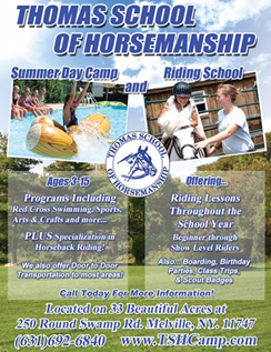 Click here to go to the Thomas School of Horsemanship website