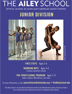 Click here to go to the Ailey School website