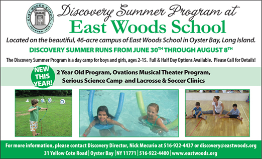 Click here to go to the East Woods School website