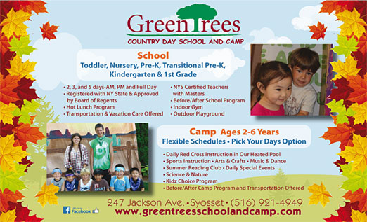 Click here to go to the Greentrees Country Day School and Camp website