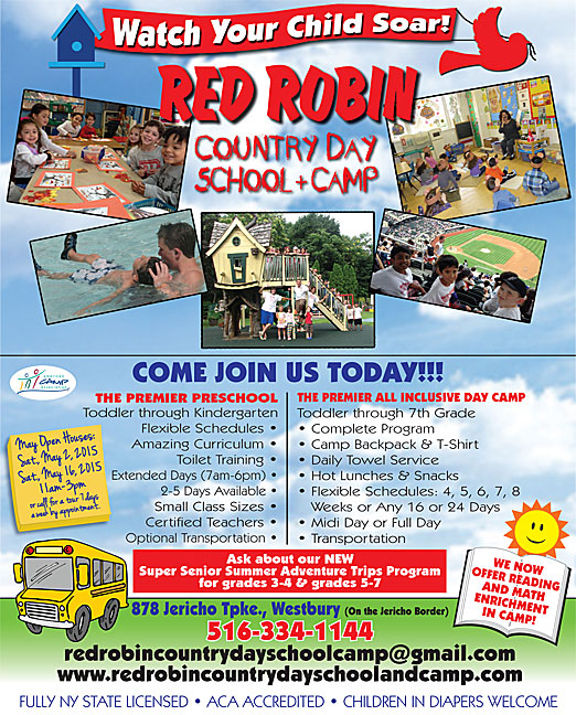 Click here to go to the Red Robin Country Day School website