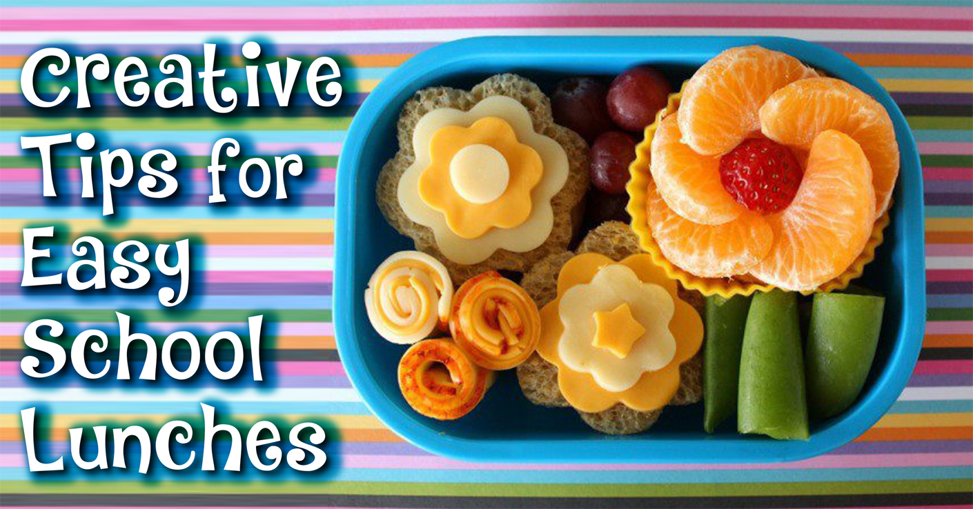 8 Creative Tip for School Lunches