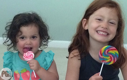 Zoe and Ivy S. from Armonk, New York