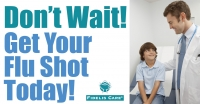 Don't Wait! Get Your Flu Shot Today!