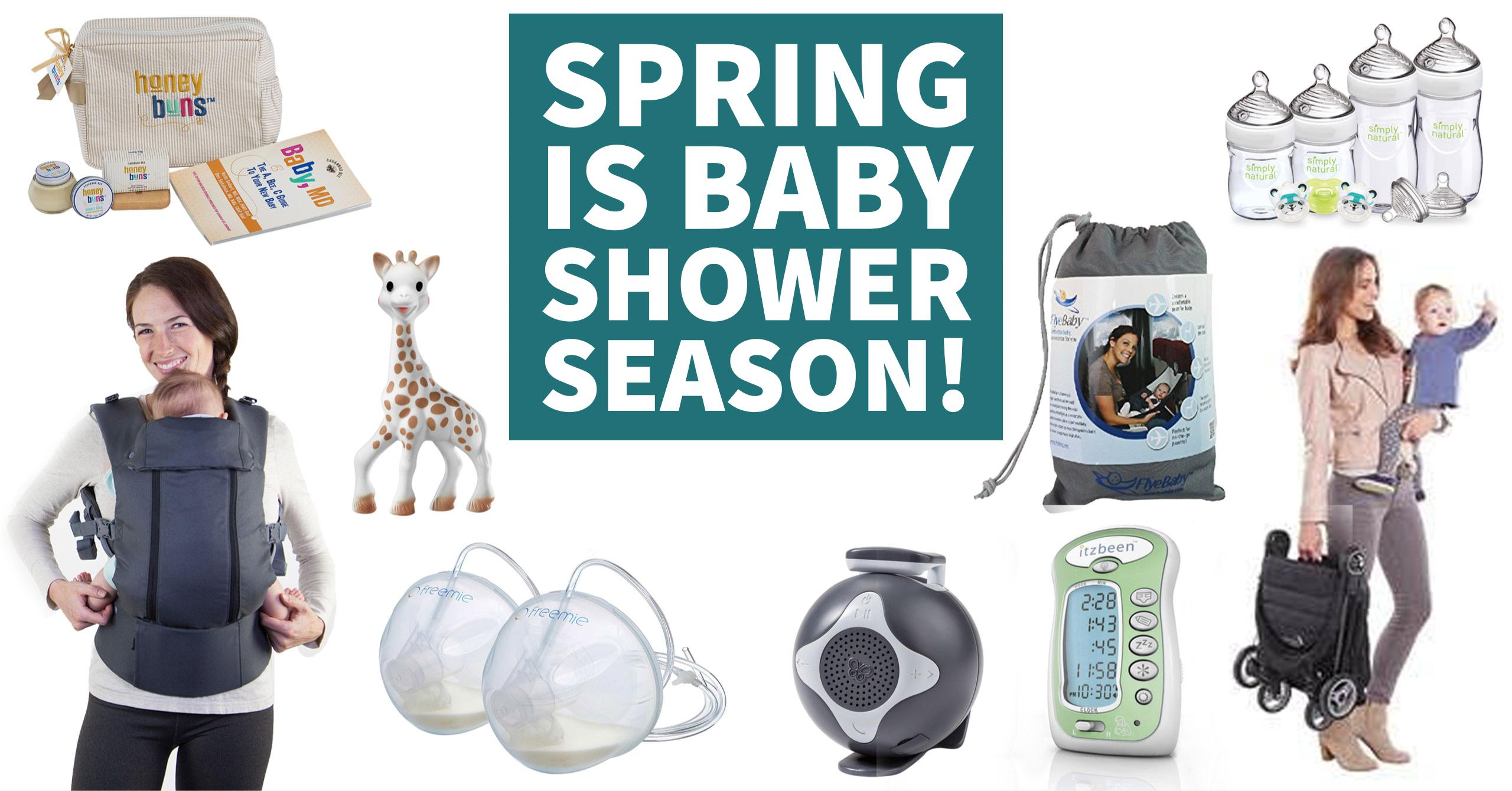 Spring is baby shower season