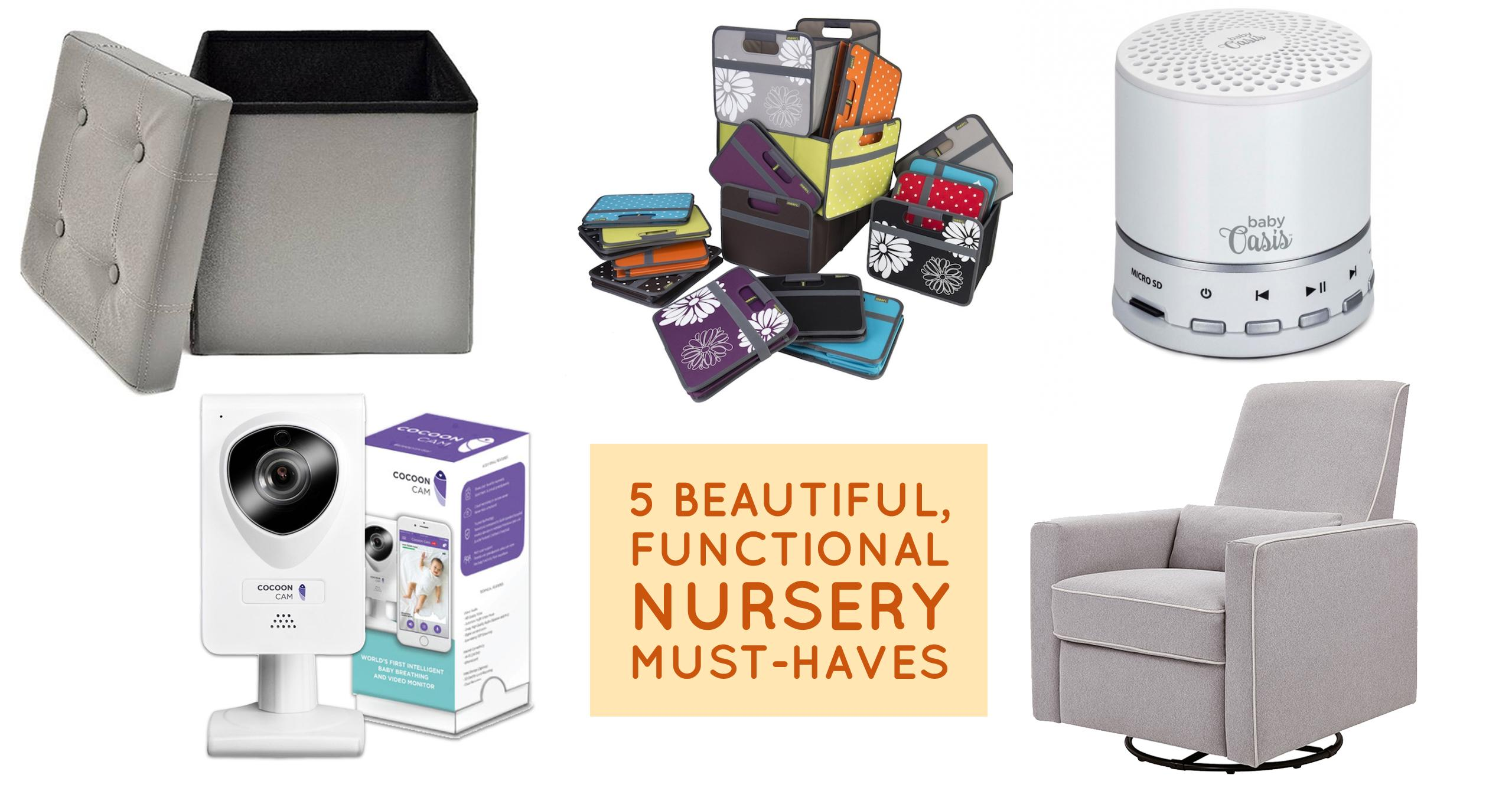 5 Sleek Nursery Must-Haves